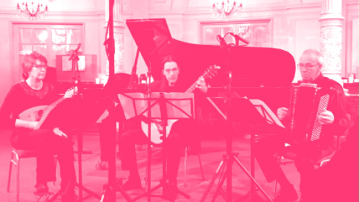Trio Les Amiis: buiten de begane muzikale  paden!